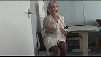 Attractive Granny in short skirt panty teases s...'s Thumb