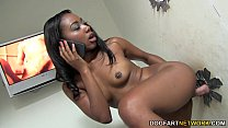 Chanell Heart sucks and fucks in a gloryhole preview image