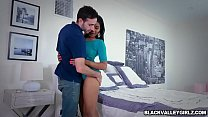 Black babe Jenna Foxx bangs with handsome neighbor pornhub video