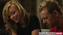 hot blonde Home Wrecker (Kayden Kross) gets plowed hard on the kitchen table - Digital Playground thumbnail
