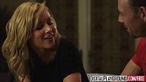 Hot Blonde Home Wrecker (Kayden Kross) Gets Plowed Hard On The Kitchen Table - Digital Playground