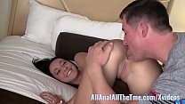 Tan Babe Sabrina Banks Gets Ass Spread and Licked for AAT! porn image
