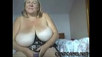 Granny Masterbates to Young Men on Webcam - More at cuntcams.net thumbnail