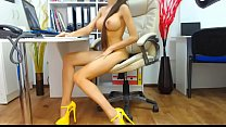 Sexy girl webcam orgasm high heels