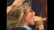 Milf With Glasses Sucking Dick Facial video