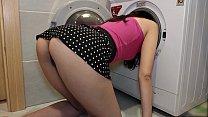 Friend's Wife Stuck In Washing Machine And I Fu