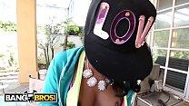 BANGBROS - Petite Ebony Babe Harley Dean Wrecked By Rico Strong Image