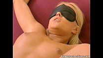 Hot blonde tide up babe gets her pussy pornhub video