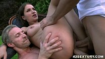 DP in the garden pornhub video