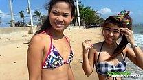 TukTukPatrol Cum Shower On Slutty Asian Beach F