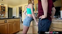 (cece capella) Cute Hot GF Banged Hard On Cam clip-03