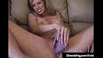 Hot Housewife Shanda Fay Fucks Dildo In Fishnet...