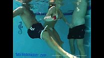 Sandy Knight Underwater Threesome