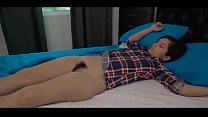 Sweet Teen Caught by Dad in Bed. Full vid:https...