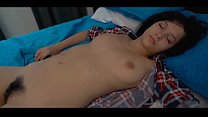 Sweet Teen Caught by Dad in Bed Anikka Eve صورة