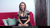 CASTING FRANCAIS - Newbie Rose in first time bl...