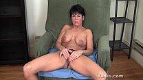 Pierced Milf Kassandra Masturbating porn image