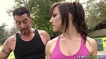 for her trainer, sex is the best full body and pussy workout