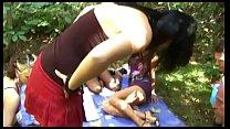4 German Amateuer Femdom Girls and her Femdom Picknick