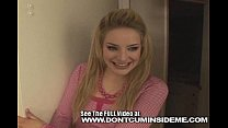 Cute teen Ally Ann fucks her boyfriend and gets...