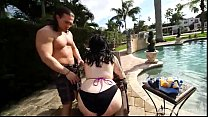 Sexy Plump Marilyn Mayson Gets Oiled and Fucked...