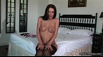 Super hot brunette getting preview image