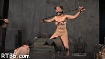 Caged beauty gets a lusty whipping for her smooth booty pornhub video