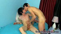 Chubby naked gay twinks Conner Bradley and Tyler Bolt are in the mood