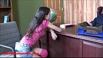 Small tiny asian 18 year old school girl gets t... thumb