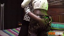 African Lesbians Inserting Toys On Hidden Camera's Thumb