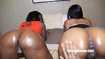 sexy newbie threesome swallow fuck bbc preview image