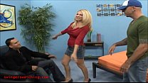 Swingerswatching.com Husband lead he wife to try something new geting good fuck