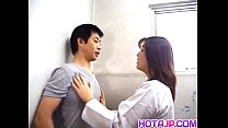 Yuko Tachibana Has Cum Pouring From Mouth After...
