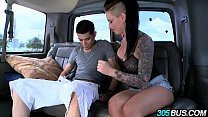 Christy Mack fucks a couple of dudes on the 305...