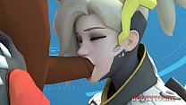 Overpornxxx Mercy big ass cartoon porn thumb