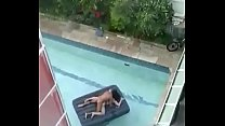 Hardsex on pool