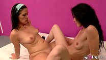 Savage lesbian sex session with Montse and Carmen: Mature, girlfriends and lovers