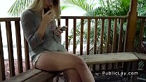 Picked up on the beach babe banged pov in hotel room