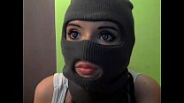Bank Robber With Weird Eyes - BasedCams.com