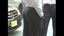 Nice ass in suit pants