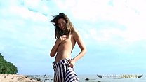 You will definitely get hard while this babe plays at the beach - dandy-329 thumbnail