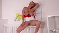 Katerina Using Her Big Tits For Her Ultra Hot Masturbation Practices thumbnail