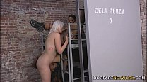 19621 Jenna Ivory Gets Fucked By Her Black Lesbian Cellmates preview
