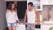 BAEB Next door neighbor fuck with brunette babe Elena Koshka