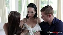 Fostering My Son & Daughter With My Mom Tits- Carmen Rae & Crystal Rush