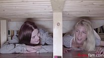 Sisters Get Caught Snooping Around & Punished- Mia Evans & Missy Luv