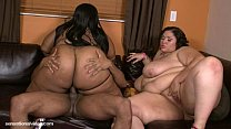 Big Tit BBWS Cotton Candi and Anastasia Fuck Big Black Cock
