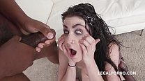Lydia Black 7on1 Balls deep Anal, DAP, Gapes and Submission