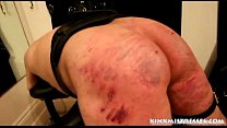 Brutal caning on the bench - kinkmistresses.com's Thumb