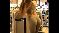 Hermoza Chica Culona En El Gym